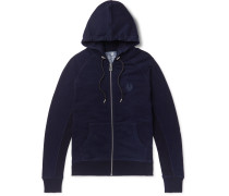 Churchstow Loopback Cotton-Blend Jersey Zip-Up Hoodie