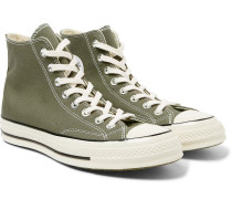 Chuck 70 Canvas High-top Sneakers - Army green