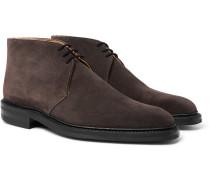 Nathan Suede Chukka Boots - Dark gray