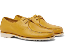 The Captain's Leather Boat Shoes