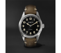 1858 Geosphere Limited Edition Automatic 40mm Stainless Steel and Nubuck Watch, Ref. No. 119907