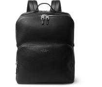 Burlington Full-Grain Leather Backpack