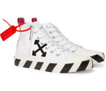 Logo-Appliquéd Canvas Sneakers