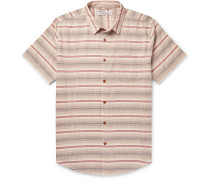 S.E.A Striped Organic Cotton Shirt