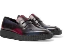 Andy Demesure Venezia Leather Loafers - Navy