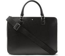 Meisterstück Leather Briefcase - Black