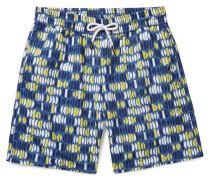 Aquarela Long-length Printed Swim Shorts