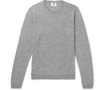 Barca Mélange Merino Wool Sweater - Gray