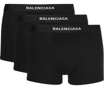 Three-pack Stretch-jersey Boxer Briefs
