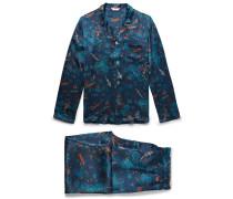 Brindisi 28 Printed Silk Pyjama Set