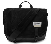 + The Cords & Co Delegate Corduroy And Shell Messenger Bag - Black