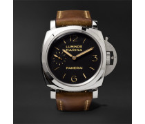 Luminor Marina 1950 3 Days Acciaio 47mm Stainless Steel And Leather Watch