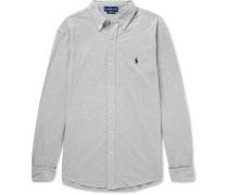 Button-down Collar Cotton-piqué Shirt