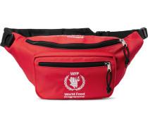 + World Food Programme Logo-embroidered Nylon Belt Bag - Red