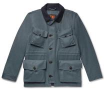 Storm System Wool-Twill Field Jacket