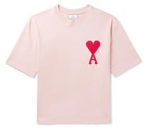 Oversized Logo-Appliquéd Cotton-Jersey T-Shirt