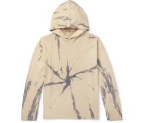 Drake Tie-Dyed Cotton and Cashmere-Blend Hoodie