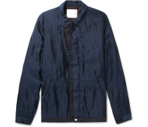 Silk-blend Ripstop Jacket