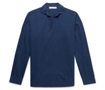 Ridley Indigo-Dyed Cotton Shirt