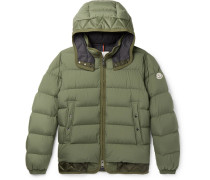 Tanguy Quilted Shell Down Hooded Jacket