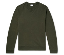 Pima Cotton and Baby Alpaca-Blend Sweatshirt