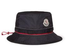 Appliquéd Shell Bucket Hat