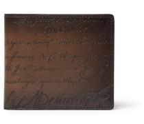 Makore Leather Billfold Wallet