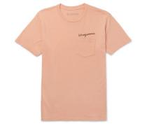 Windjammer Printed Cotton-jersey T-shirt