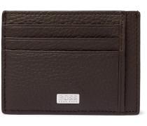Crosstown Full-Grain Leather Cardholder