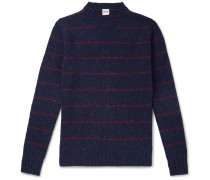 Striped Donegal Wool Sweater