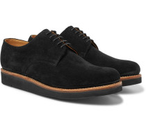 Curt Suede Derby Shoes - Black