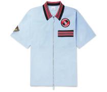 Logo-Appliquéd Cotton Shirt