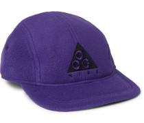 NRG AW84 Logo-Appliquéd Fleece Baseball Cap