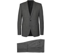 Grey Huge/Genius Slim-Fit Puppytooth Wool Suit