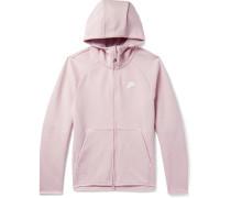 Sportswear Cotton-Blend Tech-Fleece Zip-Up Hoodie