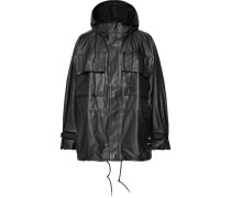 Oversized Gore-tex Hooded Jacket - Black