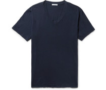 Slim-fit Combed Cotton-jersey T-shirt