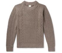 Ladock Mélange Camel Hair Sweater