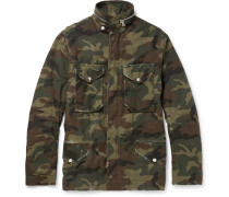 M-65 Camouflage-print Cotton-canvas Field Jacket