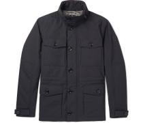 Waxed Cotton-blend Field Jacket
