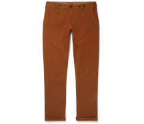 Rampin Stretch-cotton Twill Trousers