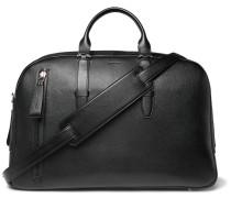 Full-grain Leather Holdall - Black