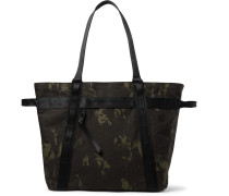 Alexander Camouflage-Print Sailcloth Tote Bag