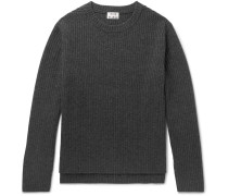 Nicholas Mélange Ribbed Wool Sweater