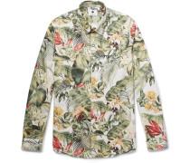 Morgan Printed Cotton Shirt