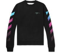 Logo-print Fleece-back Cotton-jersey Sweatshirt
