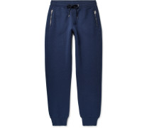 Bickwell Tapered Quilted Cotton-blend Jersey Sweatpants