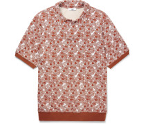 Arn Printed Knitted Polo Shirt
