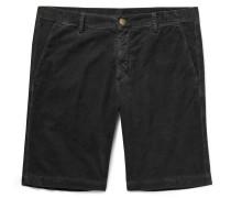 Slim-Fit Watercolour-Dyed Cotton-Corduroy Shorts