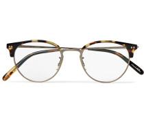 Pollack Tortoiseshell Acetate Optical Glasses - Tortoiseshell